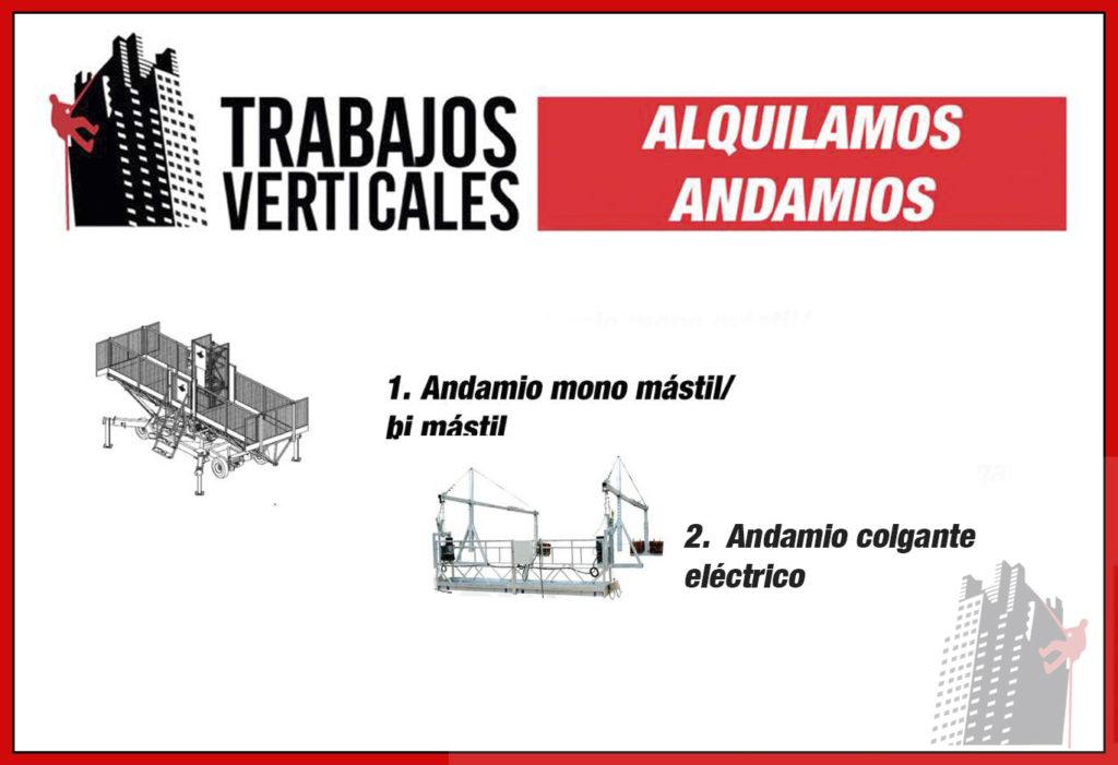 Alquiler de Andamios y de elevador en Mallorca