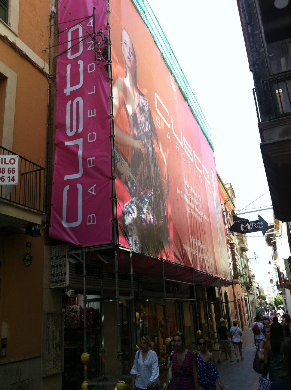 rehabilitación de fachada en Mallorca