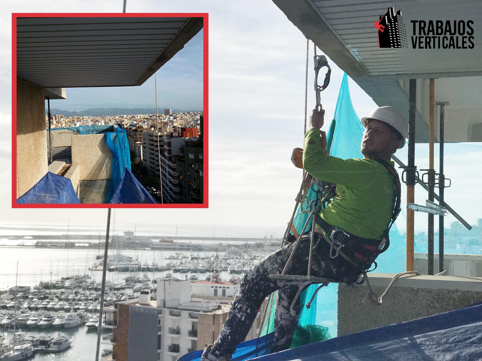 impermeabilización y rehabilitación de fachada