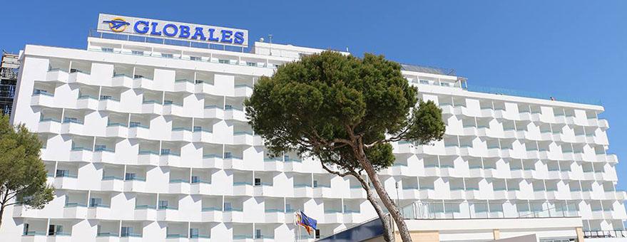 fachada HOTELES GLOBALES SANTA LUCÍ