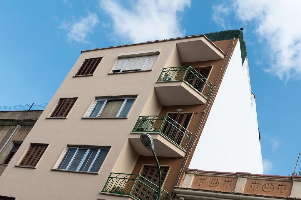 la rehabilitación de fachadas