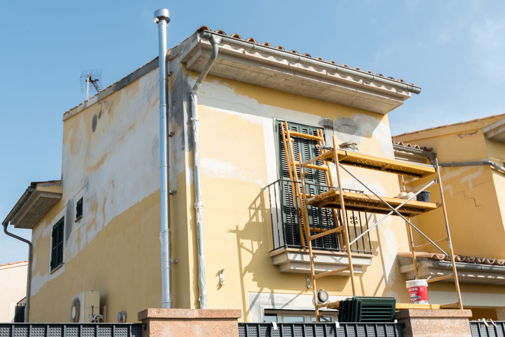 Reformas de fachadas en Palma de Mallorca