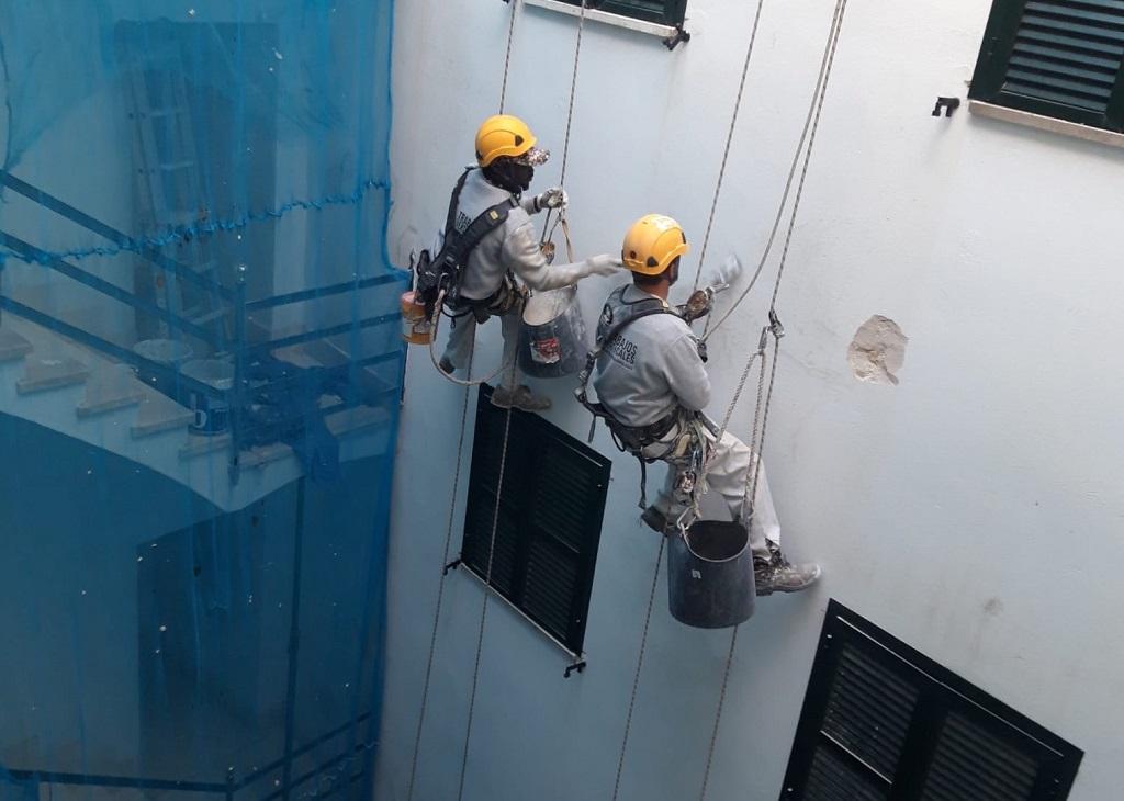 errores en trabajos verticales
