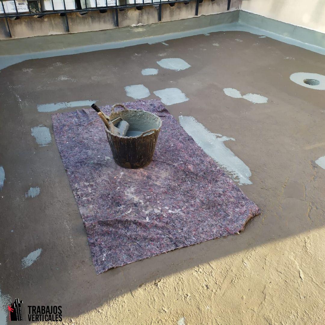 Detectar fugas y necesidades impermeabilización en terrazas