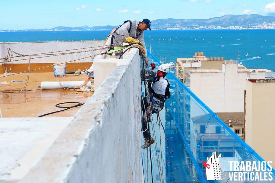 Protección anticaídas en trabajos verticales