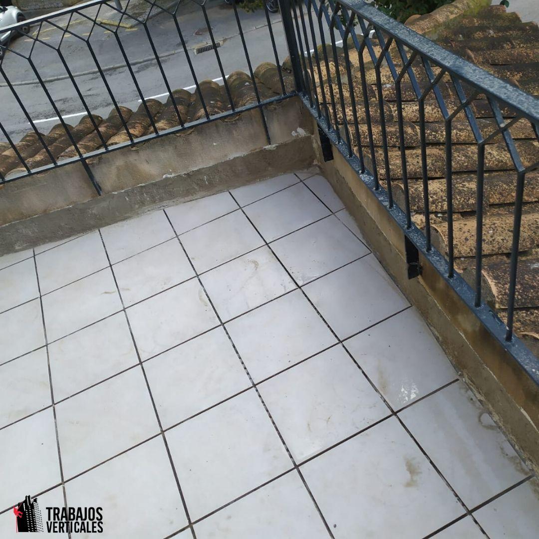 Impermeabilizacion terraza sin levantado