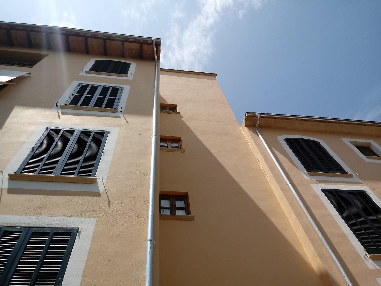 rehabilitación de edificio - revisión de canalones