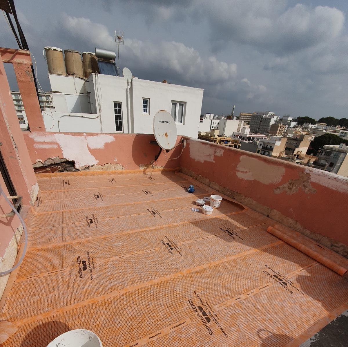 impermeabilizaciones contra la humedad y el agua en Palma de Mallorca